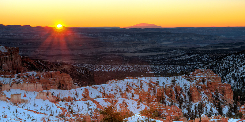 Bryce Canyon sunrise, UT