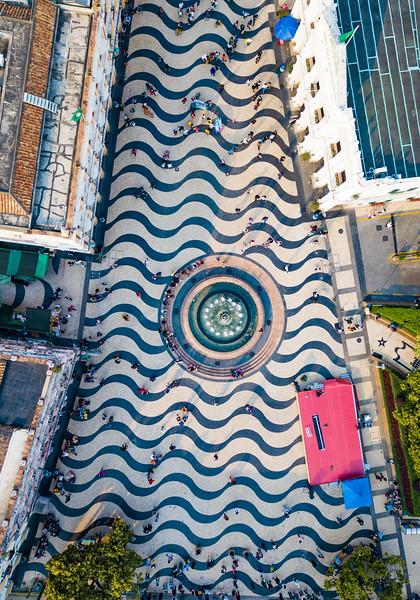 Portuguese Tiles In Macau