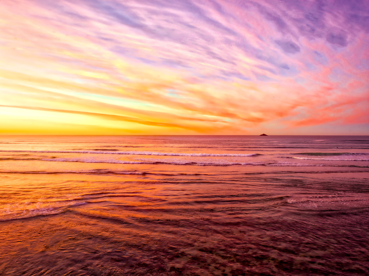 The Painted Sky Of Dunedin