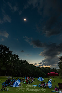 And the Clouds Parted For...   Totality!
