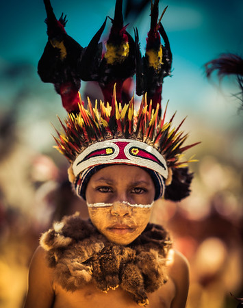 Child In Goroka