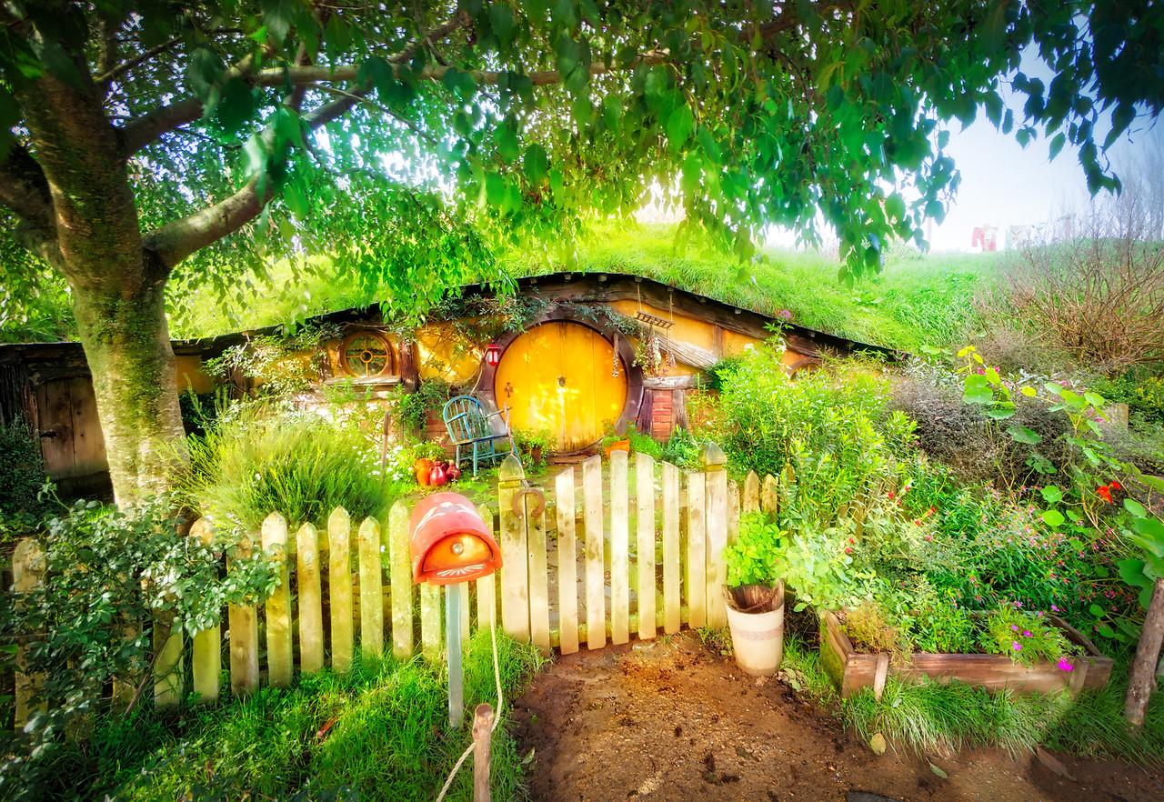 Beautiful Hobbit Holes