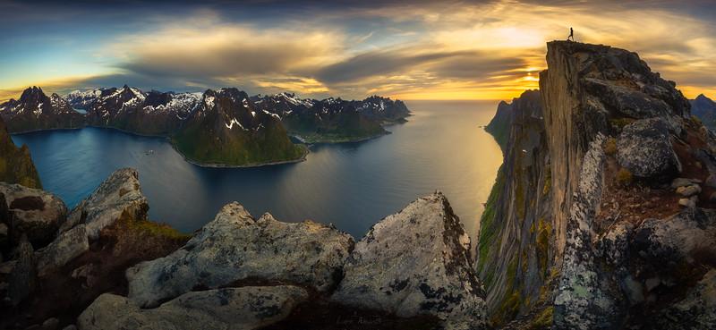 Man vs. Fjord