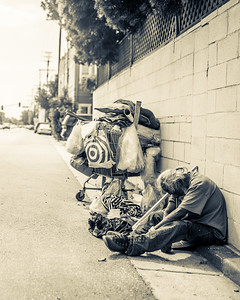 Homeless in Venice Beach