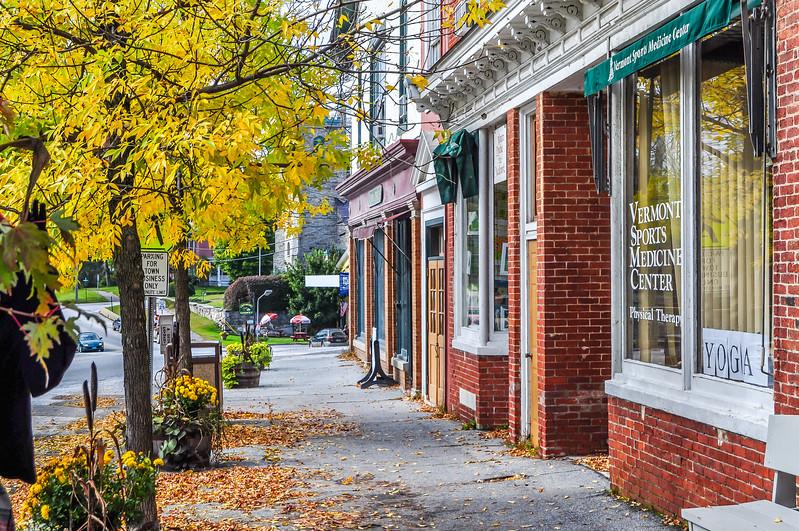 Autumn in Downtown Brandon