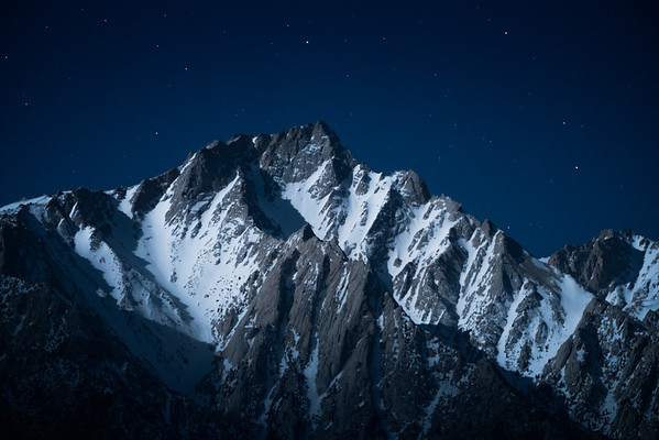 Night in the Eastern Sierras
