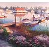 """Horseshoe Pond -Afternoon Light"""