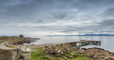 Portencross Castle & Jetty