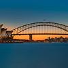 Sunset over the Sydney Opera House | Sydney, Australia