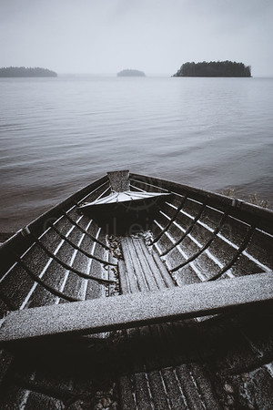 Waiting For An Adventure V (Wooden Rowing Boat)