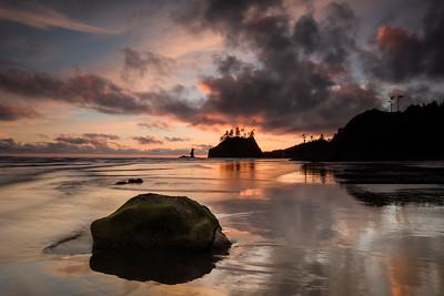 Second Beach Sunset