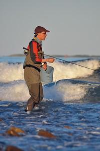 Whitewater Striper Fishing