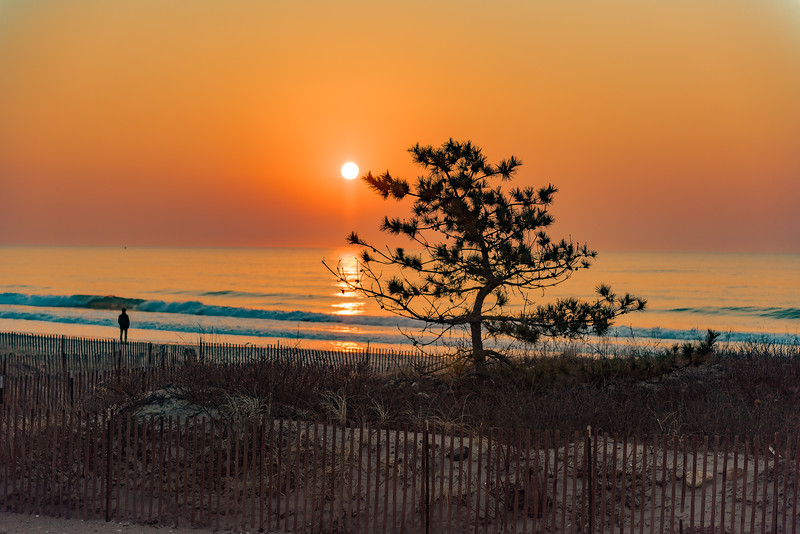 Sunrise, Narragansett Beach, Rhode Island