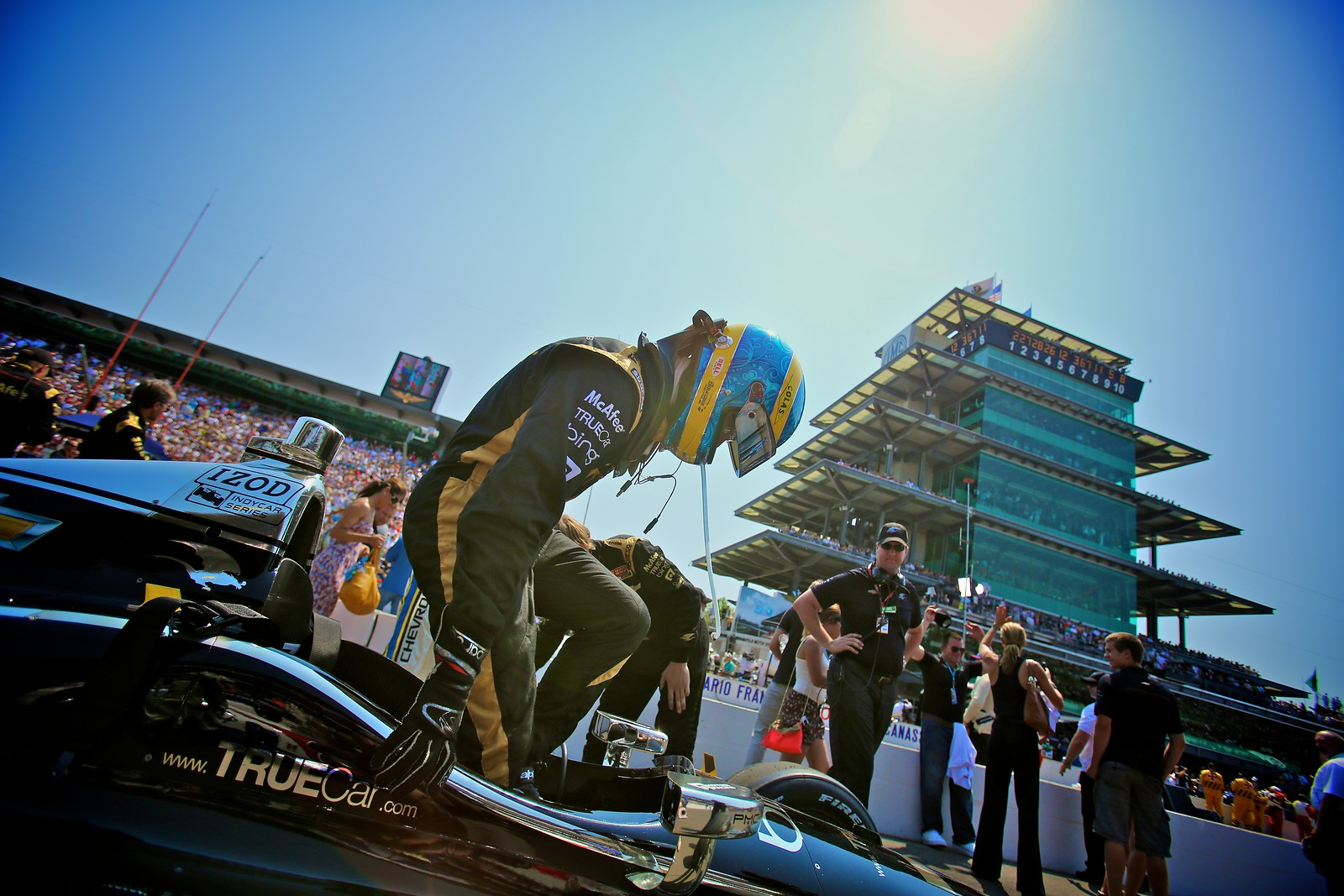 Indy 500: Time to Start
