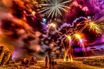 Langosta Fireworks Show