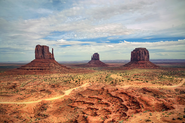 'Monumental' ~ Monument Valley, Navajo Tribal Park, AZ