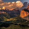 Dusk on the Sella Pass