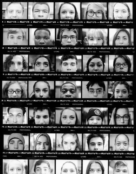 Faces of Lane Tech December, 2015