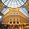 The Galleria Vittorio Emanuele II In Milan