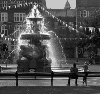 Town Hall Fountain, Leicester