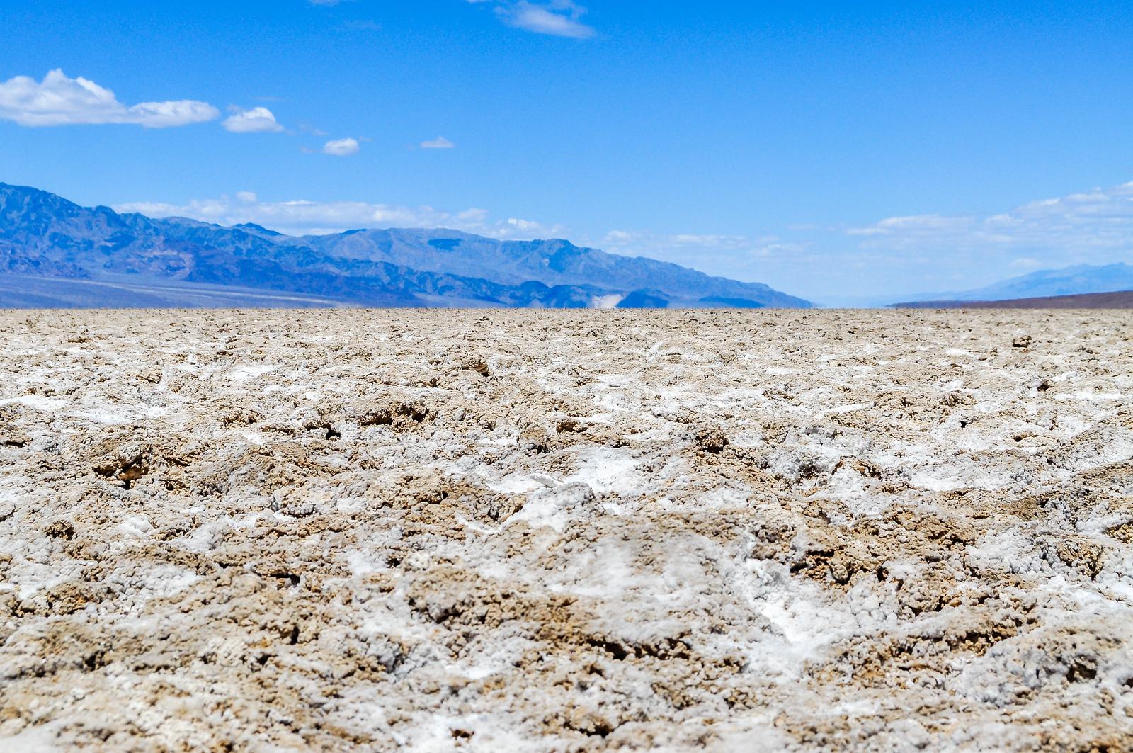 Dust Devil in the Badwater Basin