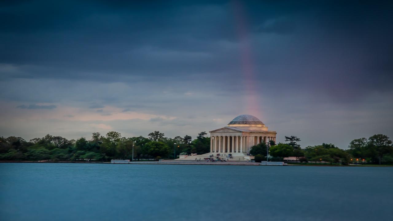Rainbow in Washington