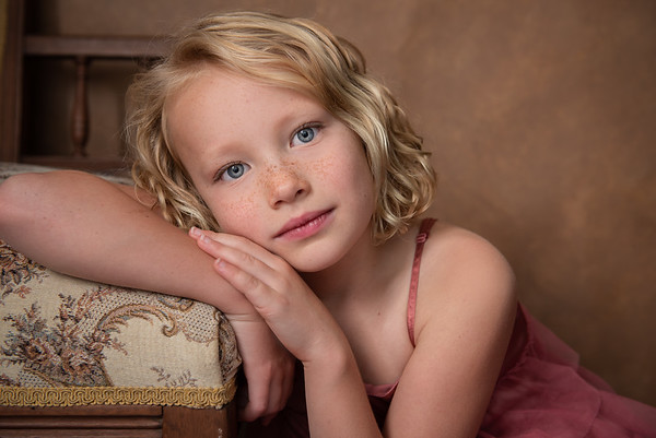 Child Fine Art Portrait, Austin, TX