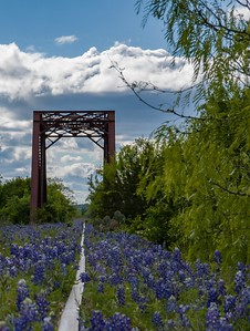 Kingland Texas abandoned Railroad