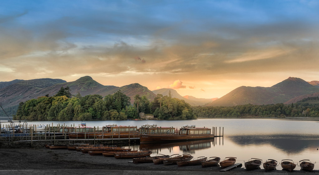 Rowing Boats at Keswick