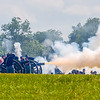 Union Artillery Fire at Pickett's Charge