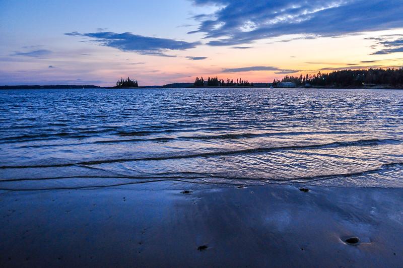 Sunset at Arcadia National Park