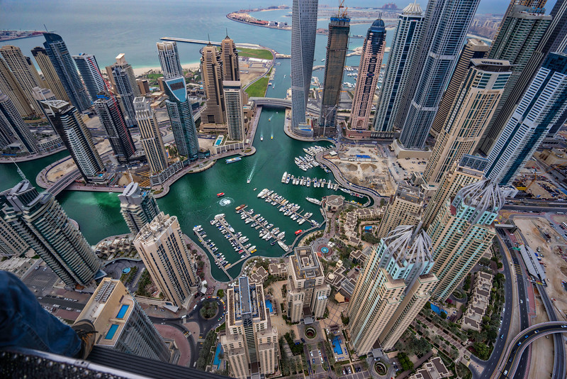 Over The Harbour In Dubai