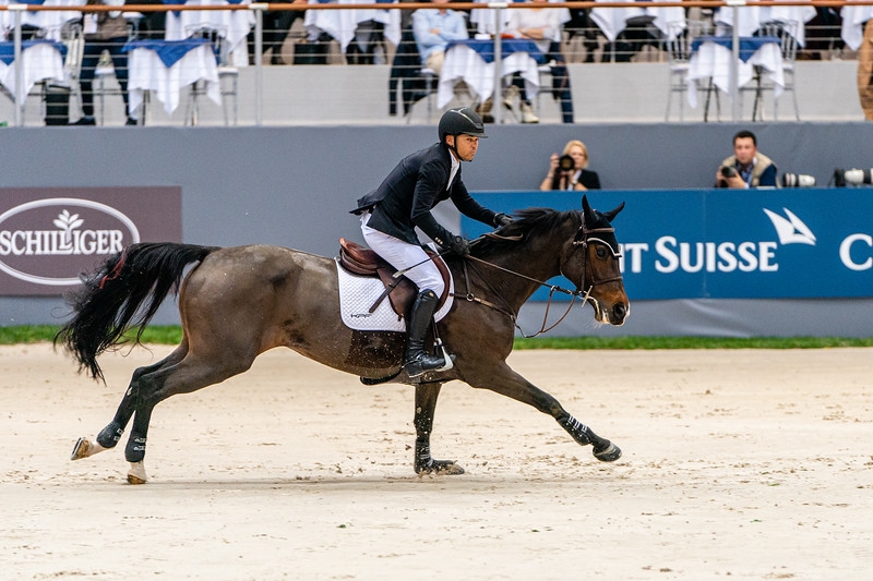 Kent Farrington on Austria 2 at CHI Geneva 2019