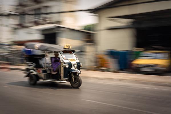 A Tuk-Tuk in Chiang Mai