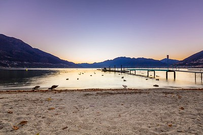 2015-11-27 Sunset over Lago Maggiore-6
