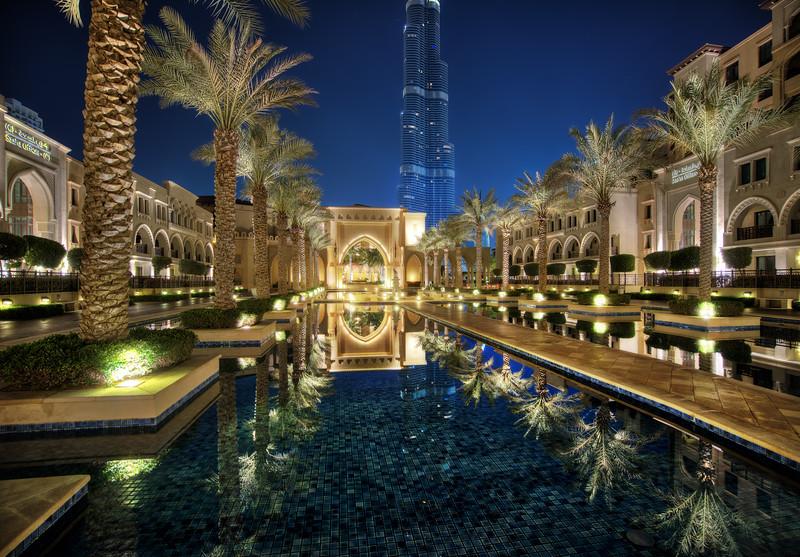 Late Night In Dubai