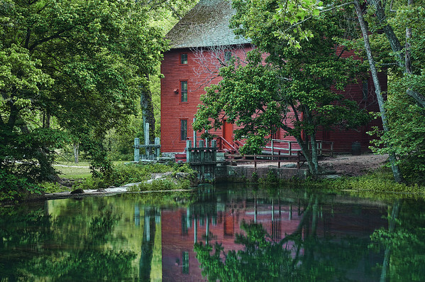 'Alley Mill' ~ Alley Spring State Park, MO