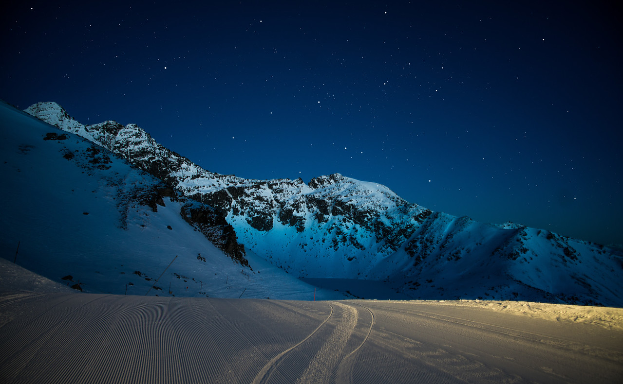 A Starry Morning Atop The Remarkables