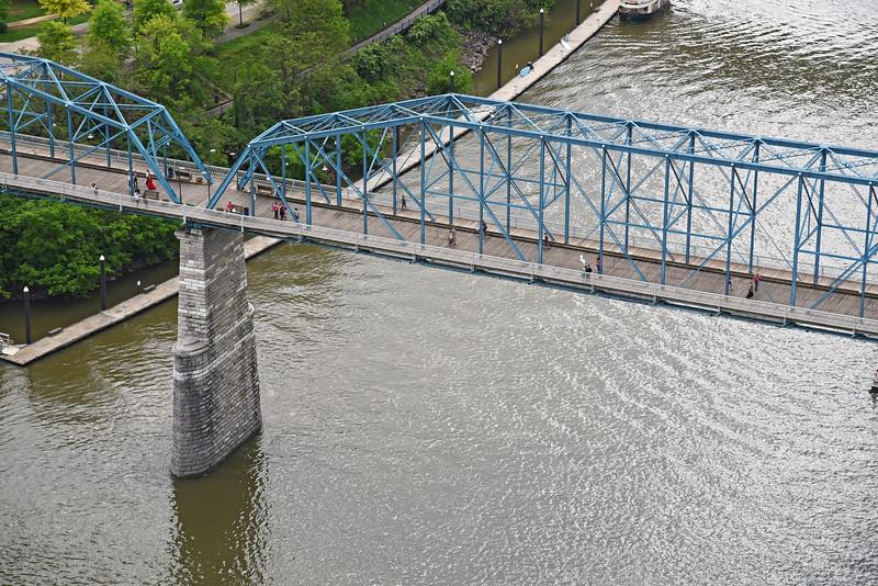 Walnut Street Walking Bridge, Chattanooga