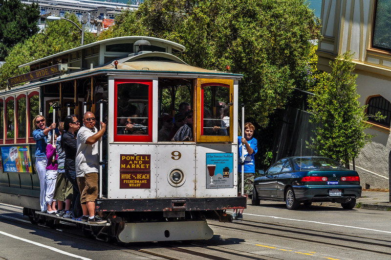Riding the Famous San Francisco Streetcar