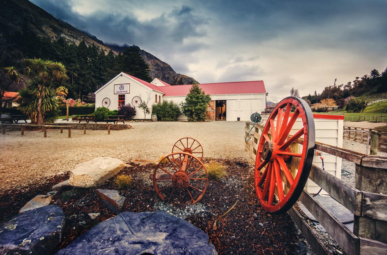 The Sheep Station at Walter Peak