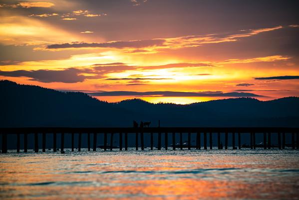 Lake Tahoe Sunset