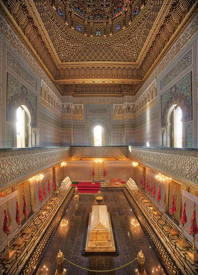 Mohammad's Tomb In Rabat