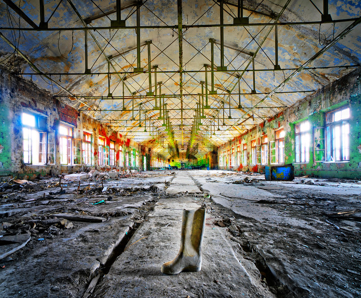 The Abandoned Rubber Factory
