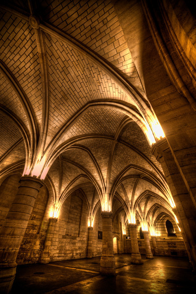"<h2>Inside the Conciergerie</h2> <br/>The French know how to build a beautiful prison! On the downside, it held up to 1,200 prisoners at a time, which sounds more like a French subway.<br/><br/>They don't like you using tripods in here. I asked if the punishment was to just leave me in the prison while I take the photos. And then, when I stopped using the tripod, they would let me out of prison. This seemed like a pretty good compromise to me, but they did not find it amusing.<br/><br/>- Trey Ratcliff<br/><br/><a href=""http://www.stuckincustoms.com/2012/11/02/inside-the-conciergerie/"" rel=""nofollow"">Click here to read the rest of this post at the Stuck in Customs blog.</a>"
