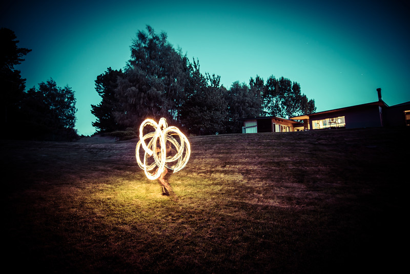 Fire Dancing At The First Ever New Zealand Workshop