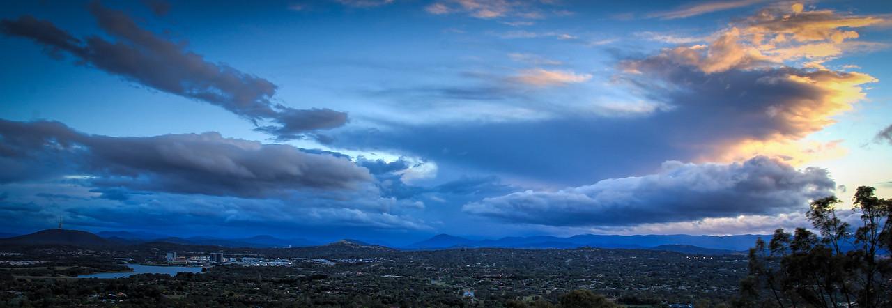 Storm Clouds over Belconnen