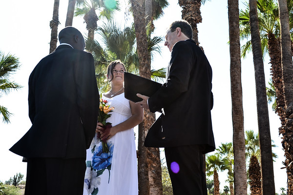 vows with flare