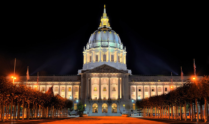 San Francisco's Lavish City Hall Building