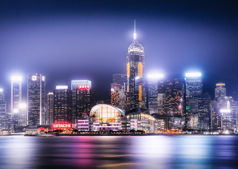 Hong Kong Skyline #02
